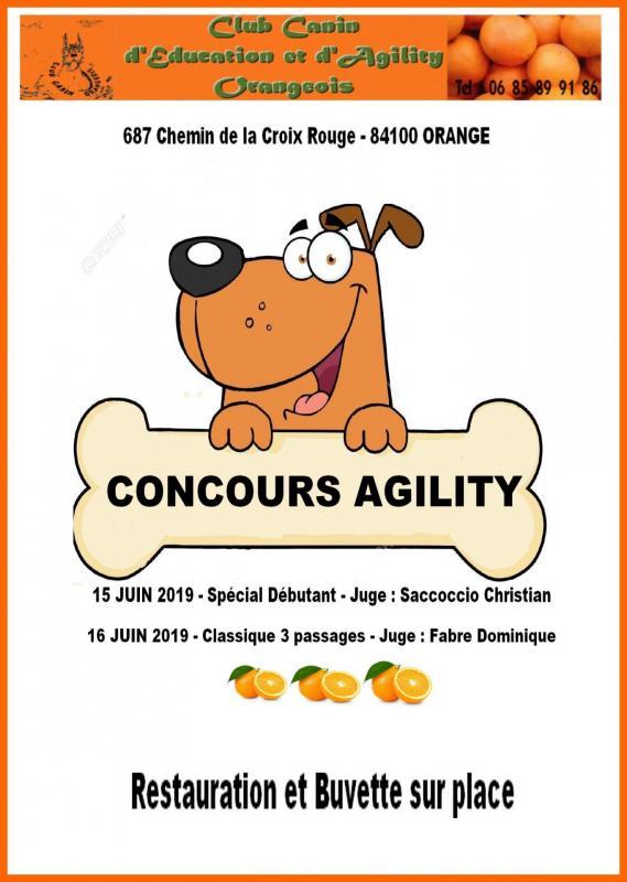 Concours du 15 et 16 juin 2019