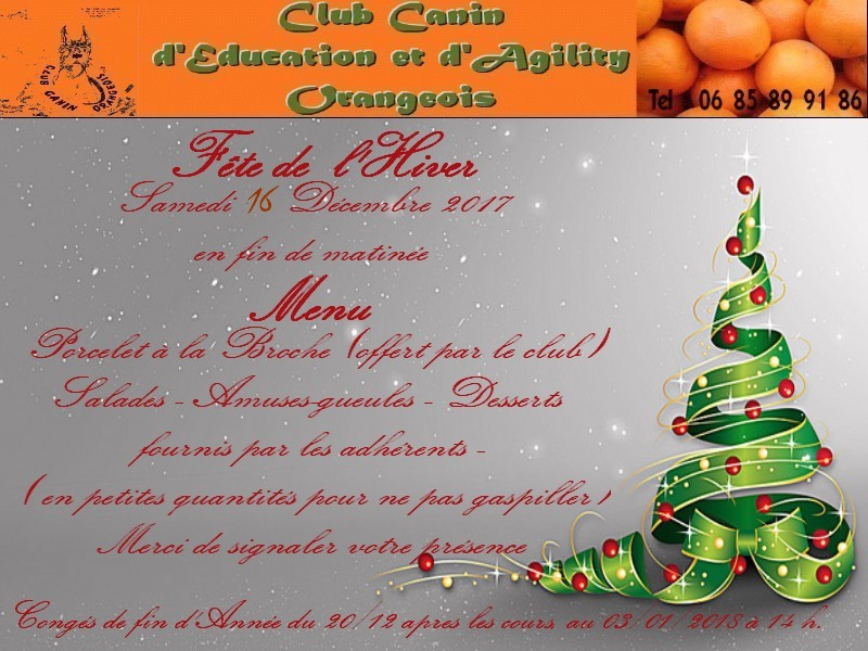 Invitation noel corrigee